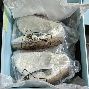 Yosi Samra Shoes - Yosi Samra white Bridal Serena flats 8M brand new